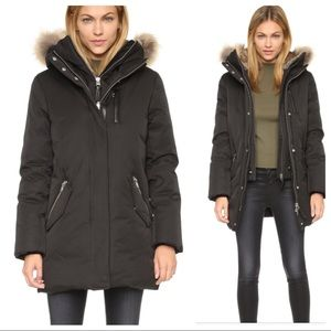 Mackage fur hood down puffer coat jacket